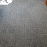 Wykładzina dywanowa po wypraniu