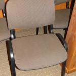 Krzesło konferencyjne po wypraniu